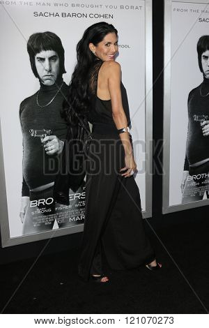 LOS ANGELES - MAR 3:  Joyce Giraud at the The Brothers Grimsby Premiere at the Regency Village Theater on March 3, 2016 in Westwood, CA