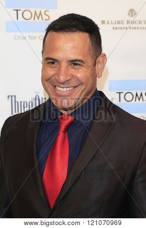 LOS ANGELES - MAR 5:  Pete Pietri at the Children International Charity's Share The Love Around The World Fundraiser at the Rocky Oaks Malibu on March 5, 2016 in Malibu, CA
