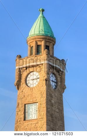 Water gauge tower