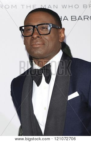 LOS ANGELES - MAR 3: David Harewood at the Premiere of 'The Brothers Grimsby' at the Regency Village Theater on March 3, 2016 in Los Angeles, California