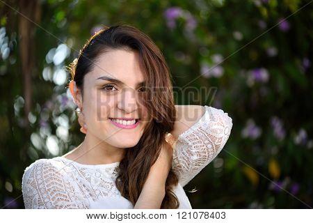 Hispanic Girl  Portrait