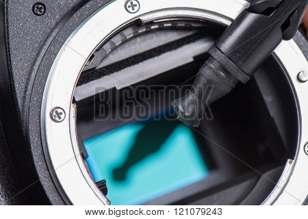 sensor cleaning tool for digital SLR camera