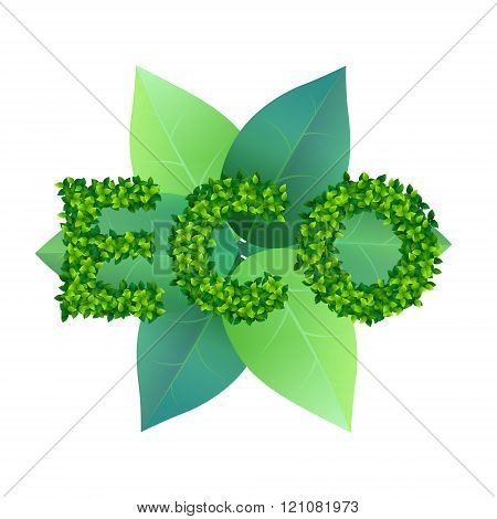eco sign concept