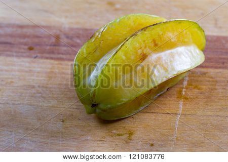 fresh ripe carambola fruit