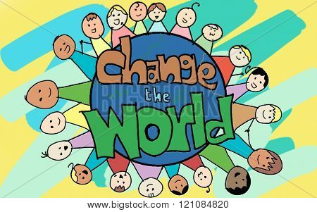 Child Change the world