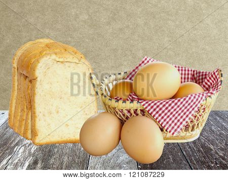 Egg and bread