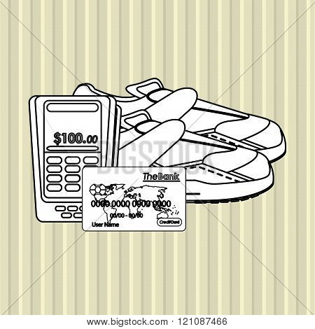 Shopping online  design