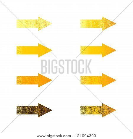 Set Of Shabby Arrows