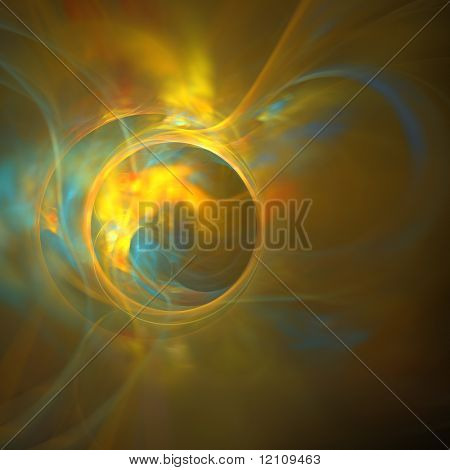 abstract fractal rendering resembling electric planet