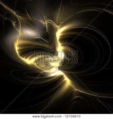 abstract fractal rendering resembling explosive lightning