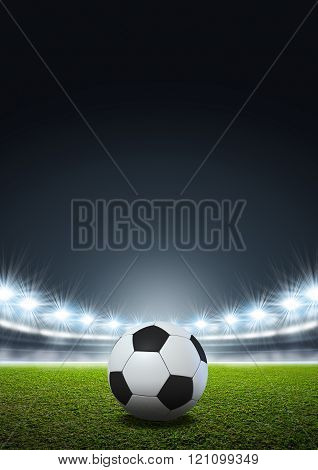 Generic Floodlit Stadium Soccer Ball