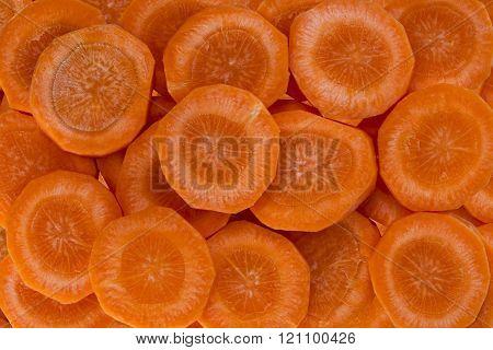a Sliced Carrot