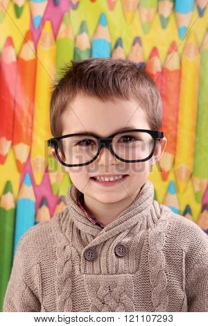 student nerd boy
