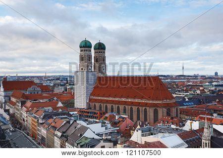 The Frauenkirche In Munich