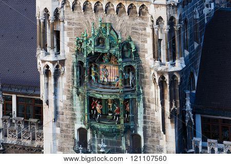 City Hall In Munich