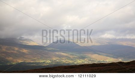 View From Aonach Mor Scotland