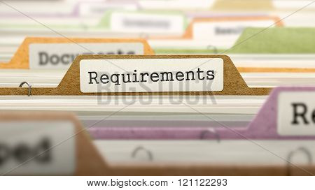 Requirements on Business Folder in Catalog.