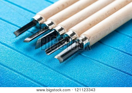 Set Of Chisels