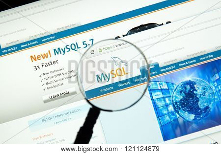 Mysql On The Web.