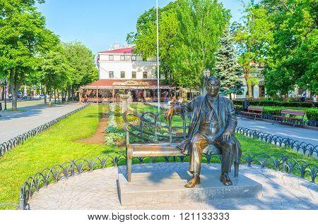 The famous sculpture