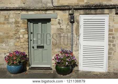 Doorways In Burford, Oxfordshire, England