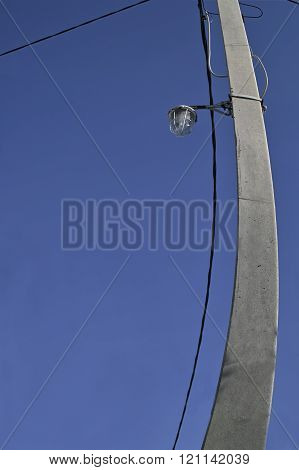 Bent Electric Post