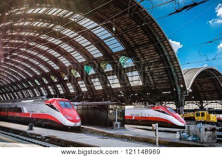 Milan Central Station - Train