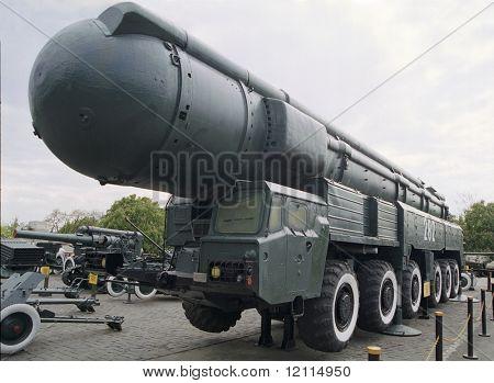 Soviet ballistic rocket