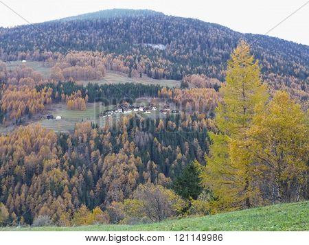 Great St Bernard mountain in Aosta Valley