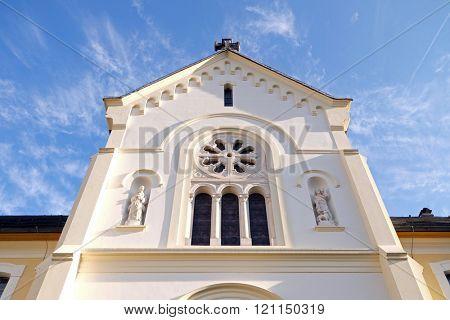 PLETERJE, SLOVENIA - NOVEMBER 06: Carthusian monastery in Pleterje, Slovenia on November 06, 2015.