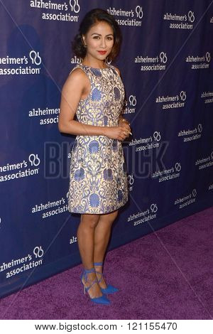 LOS ANGELES - MAR 9:  Karen David at the A Night at Sardis - 2016 Alzheimer's Association Event at the Beverly Hilton Hotel on March 9, 2016 in Beverly Hills, CA