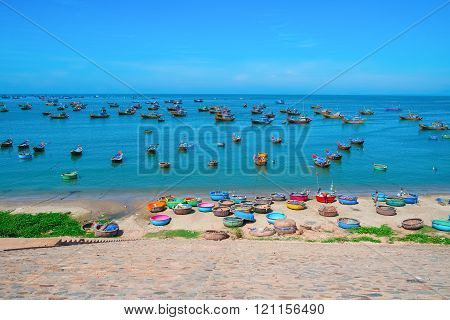 Colorful Fishing Village
