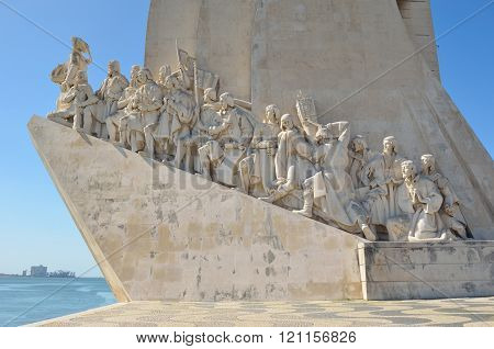 Monument to the Discoveries - East Side Lisbon Portugal
