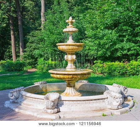 Beautiful Ancient Fountain