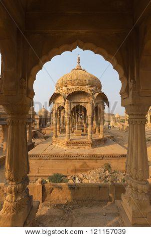 Bada Bagh in Jaisalmer, Rajasthan state, India