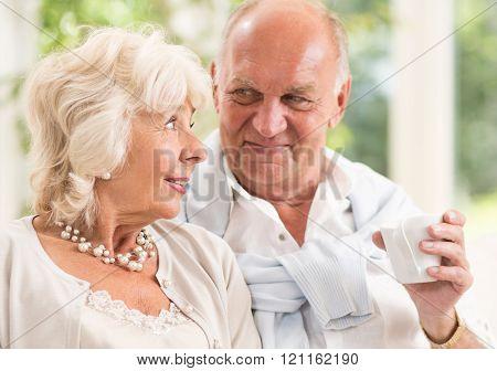 Retired Loving Couple