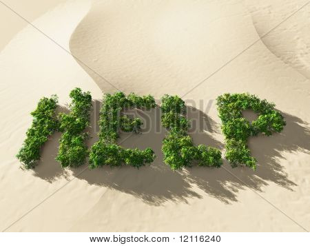 Hilfe Briefe, Umweltkatastrophe