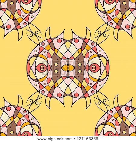Ornamental Abstract Vector. eps10