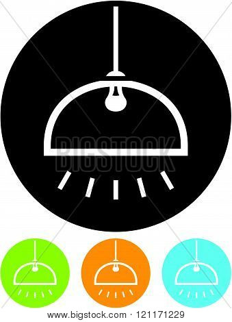 Pendant Lamp Light - Vector icon isolated.