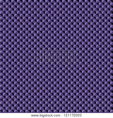 Seamless Pattern Of Purple And Black Triangular Elements