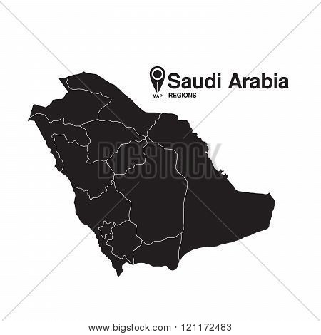 Saudi Arabia Map Regions