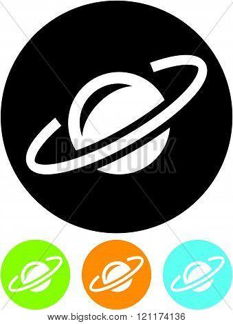 Earth satellite orbit