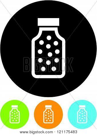 Vitamins bottle