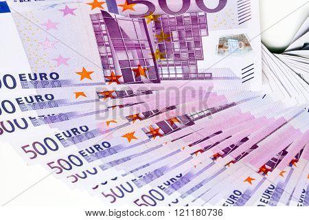 Five Hundreds Of Euros