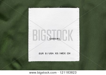White Clothes Label