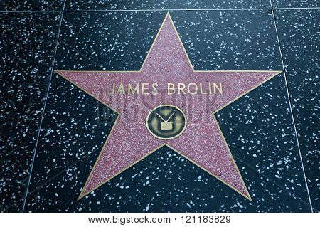 James Brolin Hollywood Star