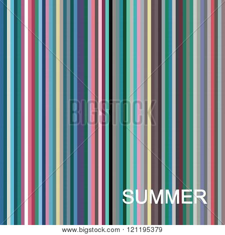 vector seasonal color analysis palette for summer type. Type of female appearance