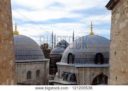 The Interior Of Hagia Sophia, Ayasofya, Istanbul.