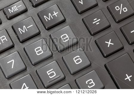 button on a calculator.