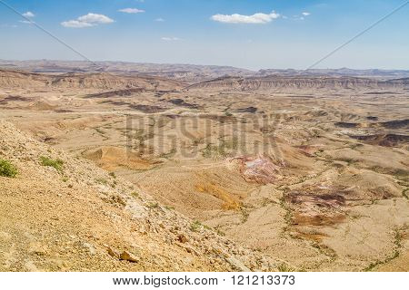 Negev Desert In The Early Spring, Israel
